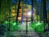 Отель Поворот ночью